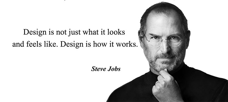 website design steve jobs